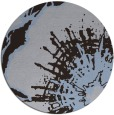 rug #647193 | round blue-violet abstract rug