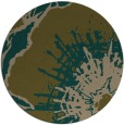 rug #647201 | round brown abstract rug