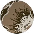 rug #647233   round beige abstract rug