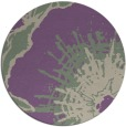 rug #647262 | round abstract rug