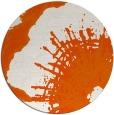 rug #647349 | round red-orange popular rug