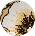 rug #647377 | round brown rug