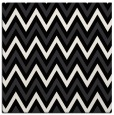 rug #647789 | square black stripes rug