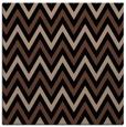 rug #647801 | square brown retro rug