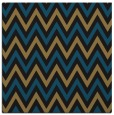 rug #647805 | square brown retro rug