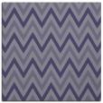 rug #647873 | square blue-violet retro rug