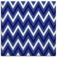 rug #647889 | square blue-violet retro rug