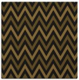rug #647901   square mid-brown retro rug