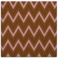 rug #647929   square brown stripes rug