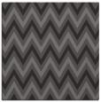 rug #647933 | square brown retro rug