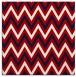 rug #648025 | square red stripes rug