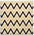 rug #648081 | square brown retro rug