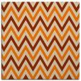 rug #648101 | square beige retro rug