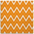 rug #648129 | square light-orange stripes rug