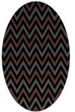 rug #648145   oval black rug