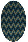 rug #648159 | oval retro rug