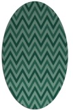 rug #648194 | oval stripes rug