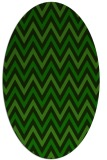 rug #648206   oval stripes rug
