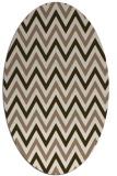 rug #648292   oval stripes rug