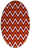 rug #648331   oval stripes rug