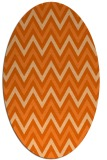 rug #648397 | oval stripes rug
