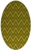 rug #648457 | oval light-green rug