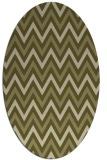 rug #648469 | oval light-green rug