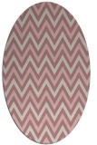 rug #648477 | oval stripes rug