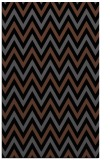 rug #648497 |  black stripes rug