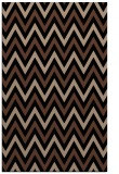 rug #648505 |  black stripes rug