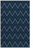 rug #648521 |  blue stripes rug