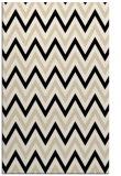 rug #648565    blue-green stripes rug