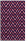 rug #648581 |  pink retro rug