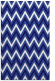 rug #648593 |  blue-violet stripes rug