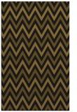 rug #648605 |  mid-brown retro rug