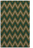 rug #648609 |  brown stripes rug