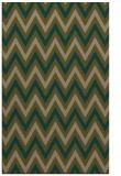 rug #648609 |  mid-brown stripes rug