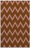 rug #648633    brown stripes rug