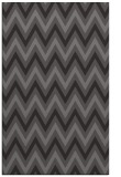 rug #648637 |  brown stripes rug