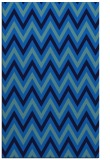 rug #648657    blue stripes rug