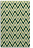 rug #648693 |  yellow stripes rug