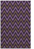 rug #648721 |  purple stripes rug