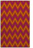 rug #648753    red-orange stripes rug