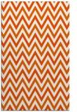 rug #648757    red-orange stripes rug