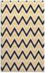 rug #648785 |  brown stripes rug