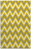rug #648789 |  yellow retro rug