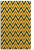 rug #648793 |  light-orange retro rug