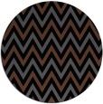 rug #648849   round black retro rug