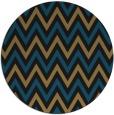 rug #648861 | round black stripes rug