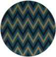 rug #648863 | round stripes rug
